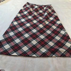 Pendleton Vintage Tartan Plaid Wool Skirt