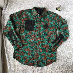 Rocawear Other - Rocawear Classic Long Sleeve Floral Button Down