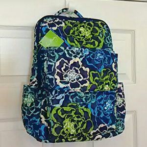 Ultimate Backpack Vera Bradley blue green floral
