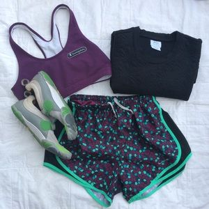 Nike Tempo DRI -FIT Speckled Running Short
