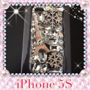 Accessories - 💕NWOT Fancy Bling Bling iPhone 5S case