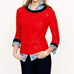 J. Crew Sweaters - J. Crew Scattered Sequin Sweater