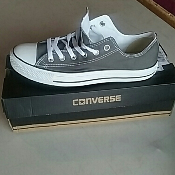 converse all star gray