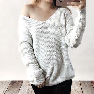 Bare Anthology Sweaters - Twist Back Sweater