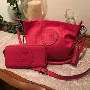 Liz Claiborne Handbags - 💰ale! Liz Claiborne purse and wallet with tassel