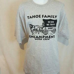 Other - Lake Tahoe work crew 2xl gray tshirt