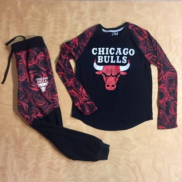 Chicago Bulls Rose Joggers Sweatpants Shirt Suit L.  M 5877b6dbc28456962e060a76 8605975b138f