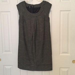 AB Studio Dresses & Skirts - Woven black and white cap sleeve dress