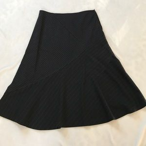 Sisley Dresses & Skirts - Sisley Pinstripe A Line Skirt