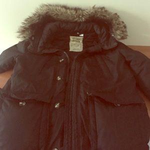 H&M heavy winter coat