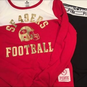 Victoria's Secret PINK San Francisco 49ers PJs