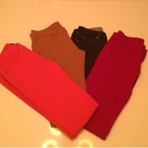 Pants - Five pairs of jeggings