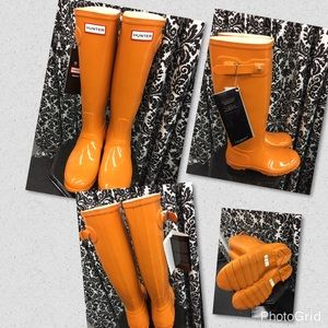 Hunter boots new with tags