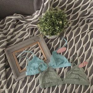 Lace Triangle Bralette