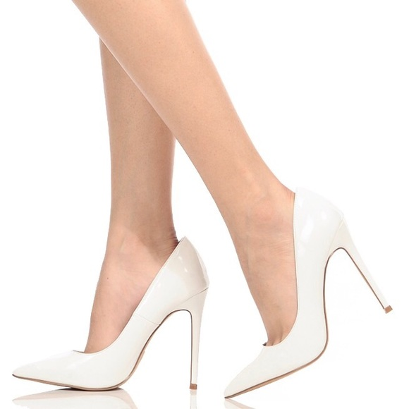 63d6c2e5756 Aldo Shoes - ALDO White Pointed Toe Pumps