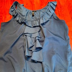 Milano sleeveless tank blouse