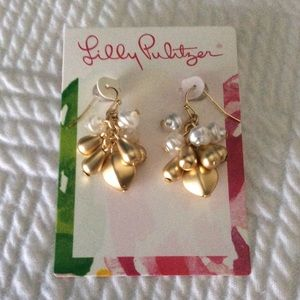 Lilly Pulitzer dangle earrings - NWT