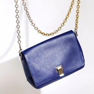 Proenza Schouler Handbags - PROENZA SCHOULER PS SMALL COURIER gold silver NAVY