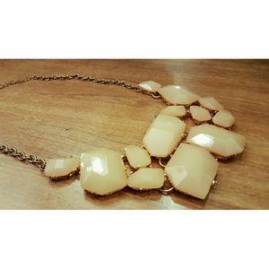Jewelry - Blush Stone Statement Necklace
