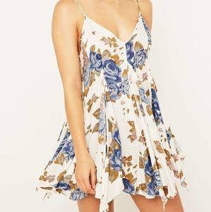 Free People Dresses & Skirts - Free People Alyson Floral Slip Dress