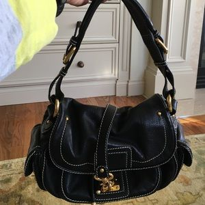 Marc Jacobs Handbags - Vintage Marc Jacobs black back with gold buckles