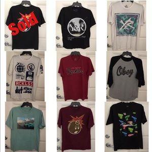 Diamond Supply Co. Other - Set of 8 Men's Urban Apparel Brand Shirts