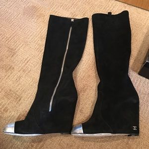 CHANEL Shoes - NIB CHANEL suede boots