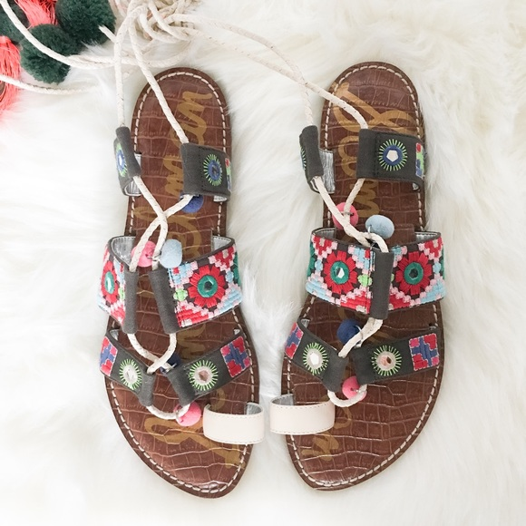 989625f1cb2e Sam Edelman Gretchen Gladiator Sandal Size 9.5. M 587ae15d6d64bcae9b02be2e