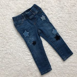 GAP Other - Baby Gap 1969 Legging Jeans with Star Patches