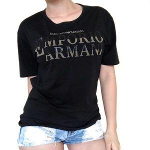 Emporio Armani Tops - • Armani • Black Tee