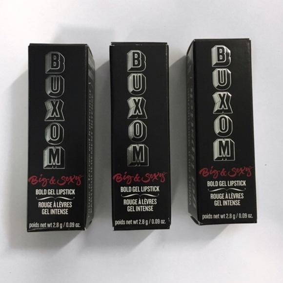 Buxom Makeup - Lot Of 3 Buxom Big & Sexy Lipsticks