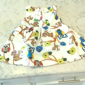 miaodue&kids Other - Fun teaching Dress. Squirrel and Owl character