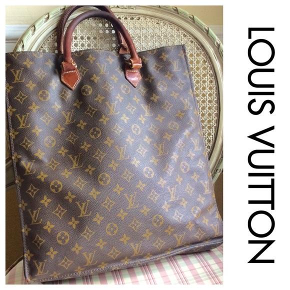 Vintage Louis Vuitton Sac Plat shopping Bag
