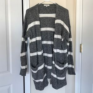 Madewell striped oversized cardigan size S