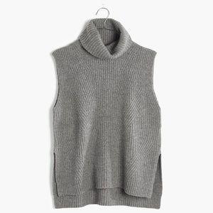 Madewell grey turtleneck size L