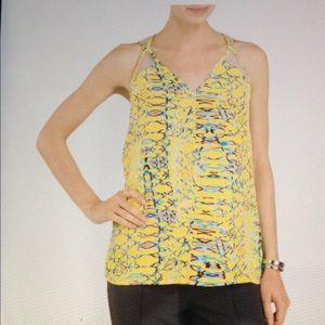 Cooper & Ella Tops - Cooper & Ella - S - printed tank top blouse
