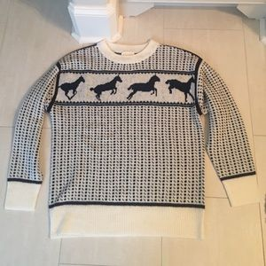 Band Of Outsiders Sweaters - Band of outsiders horse sweater