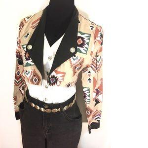 Vintage Tops - Vintage Western 80's Blouse