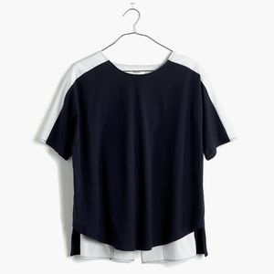 Madewell two toned top size M