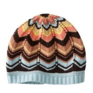 Missoni for Target Accessories - Missoni for Target Chevron Knit Beanie One Size