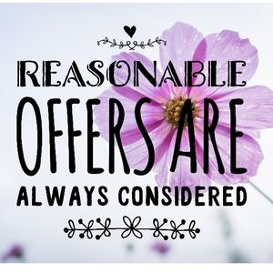 Other - Reasonable Offers Are Always Considered