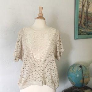H&M Tops - H&M Crochet Knit Top