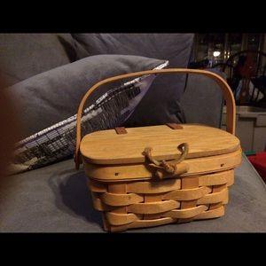 Longaberger purse basket