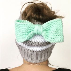 Messy Bun Hats- made to order