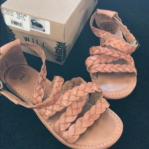 Will Leather Goods Shoes - Will Leather Goods Natur Essie sandal size 7.5