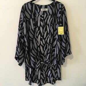 Lucy Love Tops - NWT Lucy Love Angel Feathers Sheer Cardigan Top