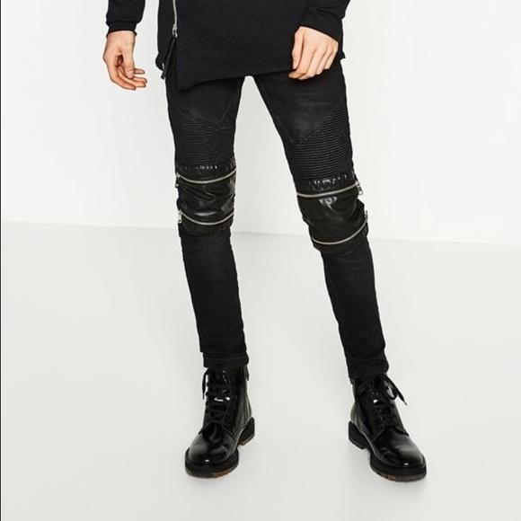 55ce1874 Zara men ripped biker jeans. M_5877ecc14e95a3856600059d