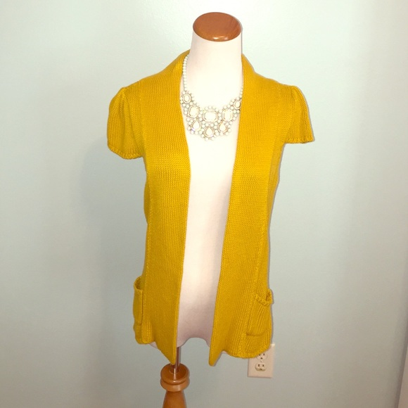 Worthington - Gold open front cardigan by Worthington from Janna's ...