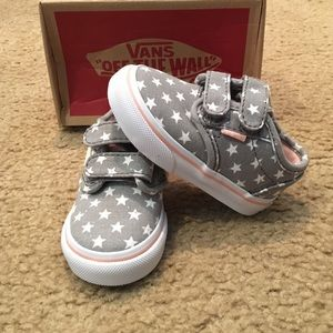 adf5776e5a Vans Shoes - Baby Girl Faded Flag Atwood Velcro Vans