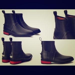 Hunter Boots Other - Hunter Limited Ed Wellesley Rubber Jodhpur Boots💕